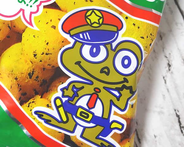 キャベツ太郎のキャラクター カエルのおまわりさん